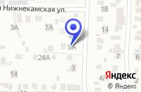 Схема проезда до компании ВОЕННЫЙ КОМИССАРИАТ ЧЕРЕМШАНСКОГО РАЙОНА в Черемшане
