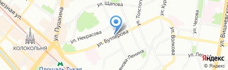 Парикмахер-сервис на карте Казани