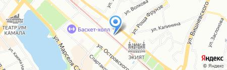 Займище на карте Казани