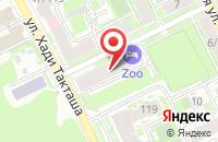 Схема проезда до компании Стрит Медиа Плюс в Казани