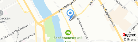 Созвездие на карте Казани