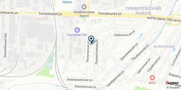 МАГАЗИН ХОЗТОВАРОВ БУЛГАР на карте Черемшане