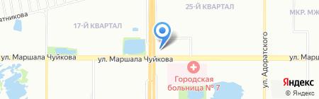 Моя крепость на карте Казани