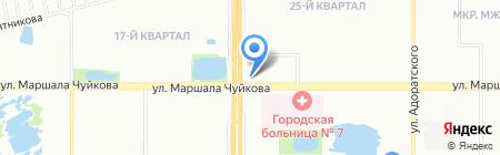 Юлия на карте Казани