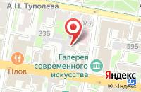 Схема проезда до компании Близко Казань в Казани