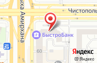 Схема проезда до компании Квадро Би Ти Эль Екатеринбург в Казани