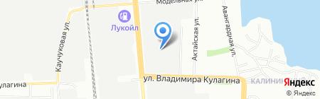 Никос на карте Казани