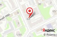 Схема проезда до компании Продсервис в Казани