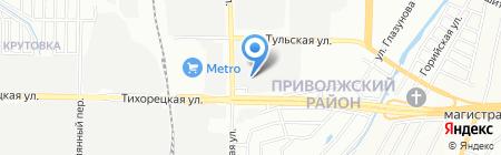 Телефон на карте Казани