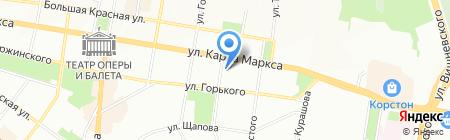 Опорный пункт общественного порядка Отдел полиции №2 Вишневский на карте Казани