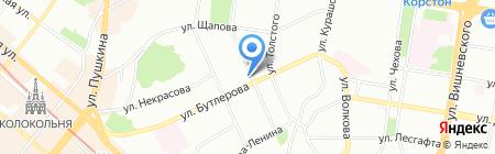 Castle Globe на карте Казани