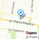 Галерея современного искусства на карте Казани