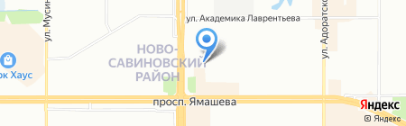 Опорный пункт общественного порядка Отдел полиции №6 Савиново на карте Казани