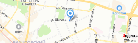 М-Принт на карте Казани