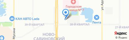 Татарстан на карте Казани