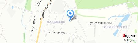 Детский сад №22 на карте Казани