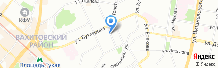 Аккорд А на карте Казани
