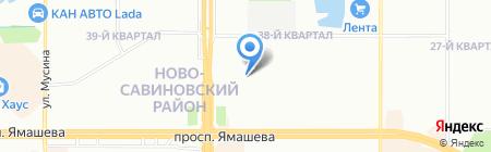 Детский сад №170 на карте Казани
