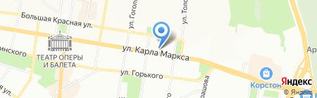 Казанские аптеки на карте Казани