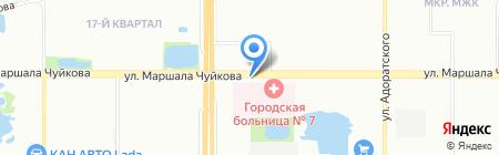 24 часа на карте Казани