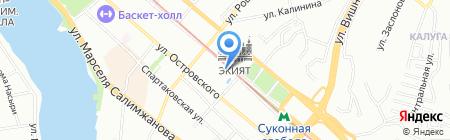 Буревестник на карте Казани