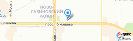 Ял тур на карте Казани