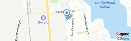 Аль Бухорий на карте Казани