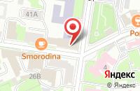 Схема проезда до компании NBSchool в Казани