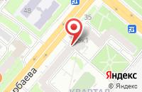 Схема проезда до компании Книга-Детям в Казани