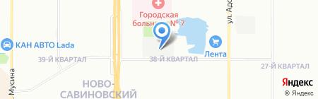 Транспортная компания на карте Казани