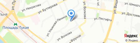РТ Потолки на карте Казани