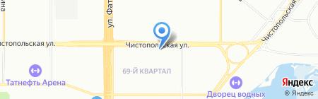 ЕвроПрестиж Плюс на карте Казани