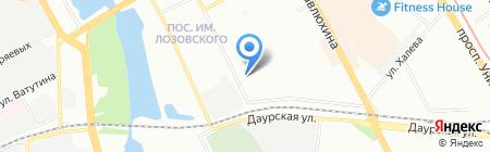 Детский сад №307 Золотой ключик на карте Казани