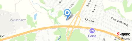 Чибис на карте Казани