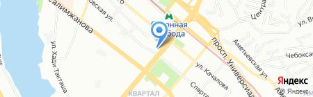 АдьютентЪ на карте Казани