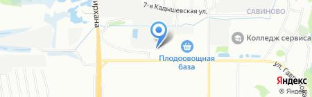 Ультра на карте Казани