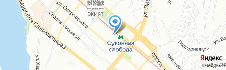 Горбуновь на карте Казани