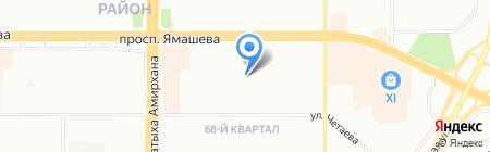 Детский сад №405 Науруз на карте Казани