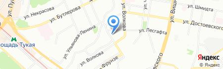 Детский сад №212 на карте Казани