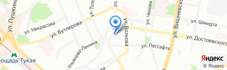 Казанский социально-гуманитарный техникум на карте Казани