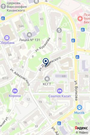 АНО РЕДАКЦИЯ ОБРАЗОВАТЕЛЬНЫХ И НАУЧНЫХ ИЗДАНИЙ на карте Казани