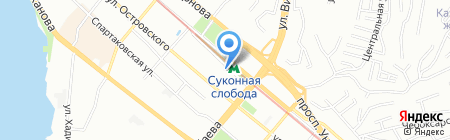 Метелица-Строй на карте Казани