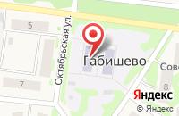 Схема проезда до компании Одуванчик в Матюшино
