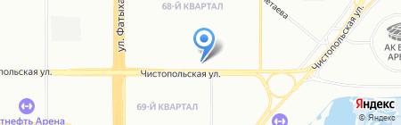 МИНИМОДА на карте Казани
