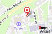 Схема проезда до компании Альянс в Казани