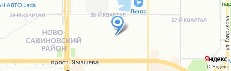 Детская музыкальная школа №17 им. С.З. Сайдашева на карте Казани
