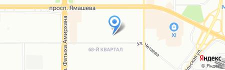 Средняя общеобразовательная школа №143 с углубленным изучением отдельных предметов на карте Казани