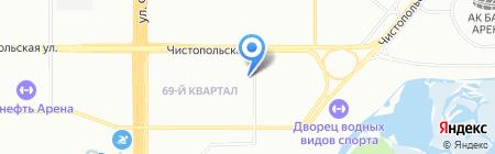 Atribut на карте Казани