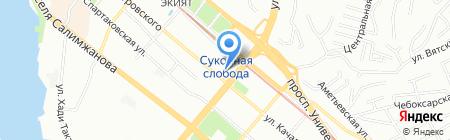 Банкомат Татсоцбанк на карте Казани