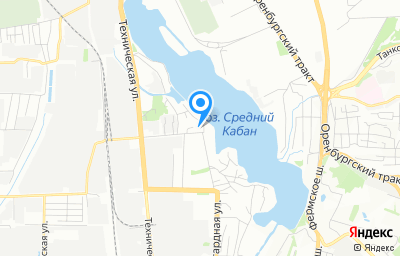 Местоположение на карте пункта техосмотра по адресу г Казань, ул Модельная, д 10